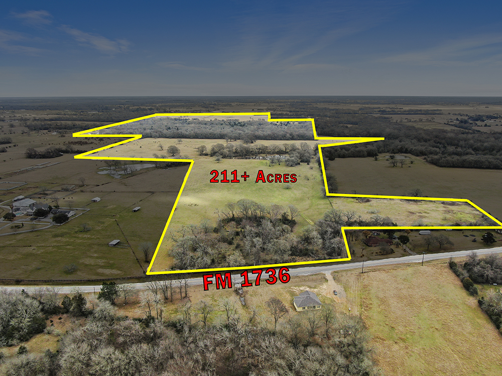 211+ Acres, AG Exempt, Unrestricted, Fenced/Cross Fenced, Creek